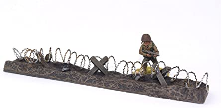 WWG Barbed Wire Defensive Position Painted / Unpainted - 28mm Wargaming Terrain - Choose The Pack Size