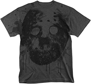 Friday The 13th Movie Jason Mask All Over T Shirt & Stickers