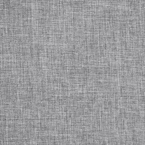 Bezugsstoff Sawanna Struktur Web Möbel Polster Stoff Meterware Melange fein gewebt Grey