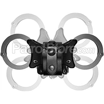 TCH 810B Covert Black Folding  Police and Security Handcuffs