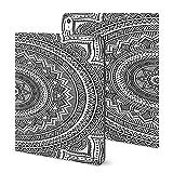Jolie carte avec mandala pour iPad 2020 Air 4 (11 pouces), motif géométrique, motif cercle,...
