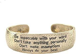 The Four Agreements Dome Cuff