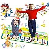 Nakeey Kinder Spielzeug Musik Matte Piano Matte Keyboard Matte Klaviermatte Tanzmatte Musikmatten...