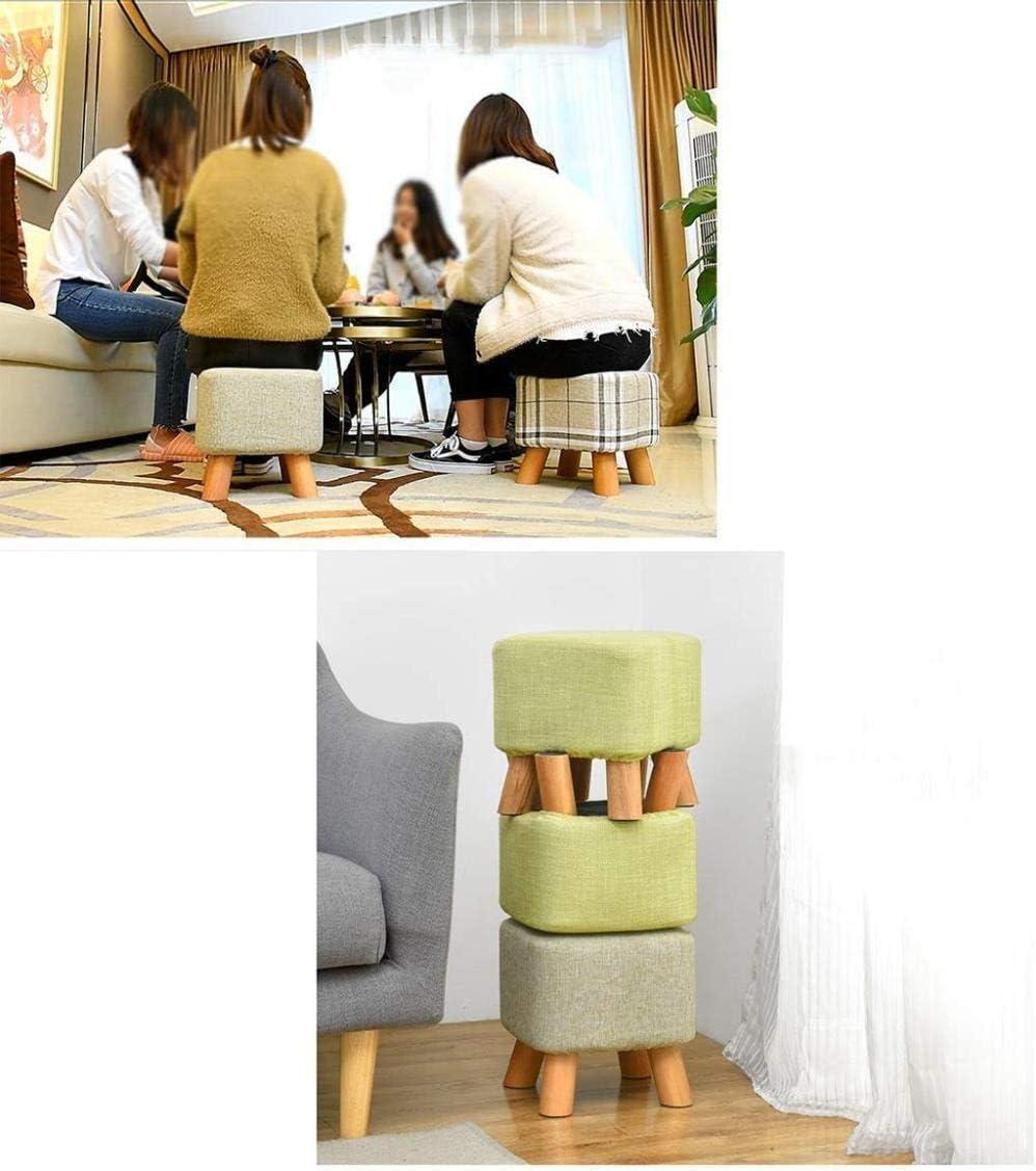 Petit tabouret JT- Chaussures Tabouret Porte Creative entrée de la Maison Peu de Chaussures Change Durable (Color : E) A