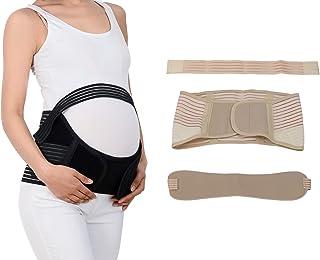DEBAIJIA Cintura per maternità Terapeutica, Cintura di Pancia Gravidanza Sostegno per Dolore Schiena Fascia Addominale Lom...