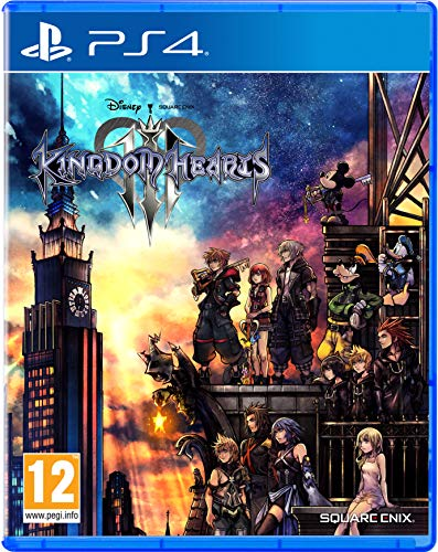 Square Enix Kingdom Hearts III, PS4 vídeo - Juego (PS4, PlayStation 4, Acción / RPG, E10 + (Everyone 10 +))