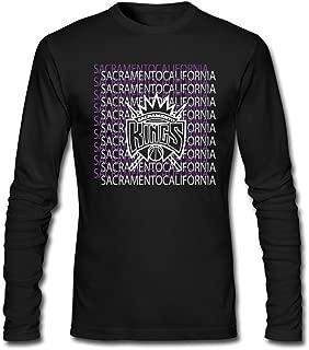 Sacramento Kings Rajon Rondo 9 [Black Men's Tshirts Long - Sleeved