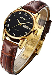 Watch Women Wristwatch Ladies Female Brown Leather...