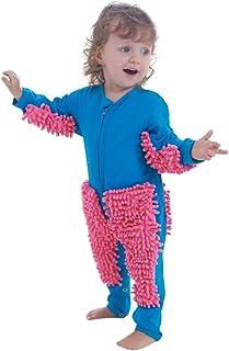 Stormdoing Baby Mädchen Jungen Krabbel-Strampler Langarm Baby Solid Mop Design Overall