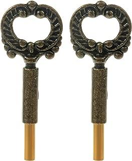 Lamp Keys, Penck Socket Keys - Brass Finish - Pack of 2