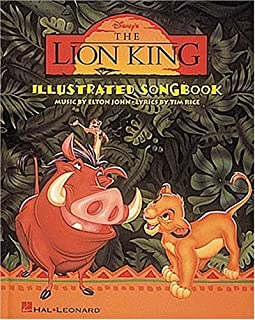 Disney's The Lion King Illustrated Songbook (Walt Disney Pictures Presents)