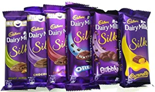 Cadbury Throni Dairy Milk Silk (335 g) -Pack of 6 Combo
