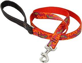 Lupine 3/4 Inch Go Go Gecko Padded Handle Dog Lead