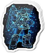 Uitee Store Cool Sticker (3 pcs/Pack,3x4 inch) The Frozen Digital Art Stickers for Water Bottles,Laptop,Phone,Teachers,Hydro Flasks,Car