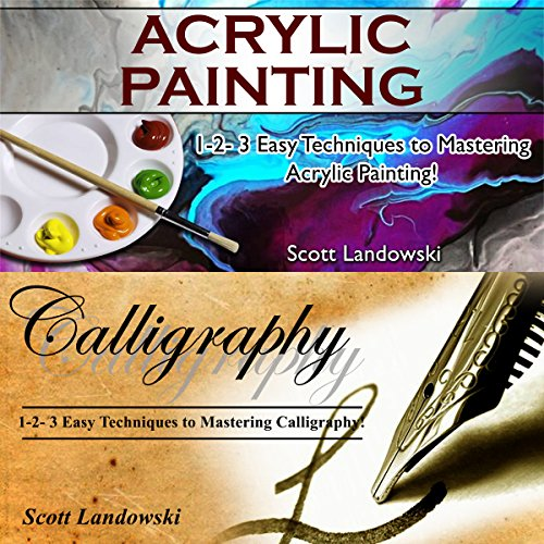 Acrylic Painting & Calligraphy audiobook cover art