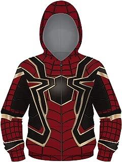 Boys Girls Zip Hoodies Sweatshirts Costume Cosplay 3D Jackets Coat