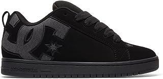 DC Men's Court Graffik SE Skate Shoe,Black Destroy...