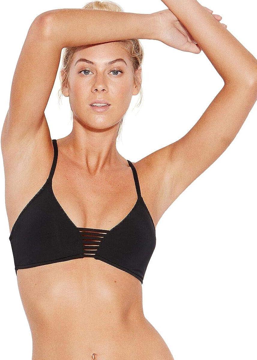Seafolly Women's Active Multi Strap Bralette Bikini Top Swimsuit