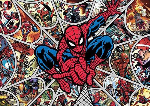 Prachtige Spider-Man Muurdoek Behang Cartoon Anime Karakter strips Wanddoek Behang muurschildering (H) 250* (W) 175cm A