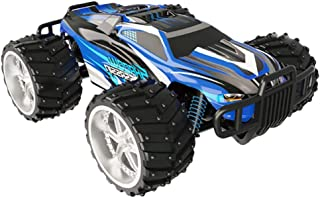STOTOY Electric RC Car - Offroad Remote Control Cars - RTR RC Buggy RC Monster Truck 1:16 4WD 2.4Ghz High Speed (Blue)