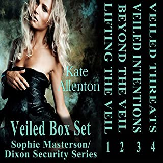 Veiled Set: Sophie Masterson/Dixon Security Series audiobook cover art