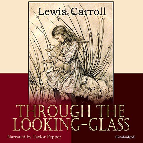 Through the Looking-Glass audiobook cover art