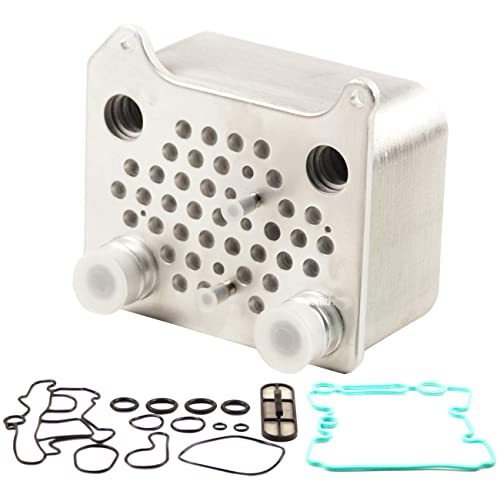 TOPAZ 3C3Z-6A642-CA Upgraded EGR Oil Cooler Kit for Ford Powerstroke Diesel 6.0