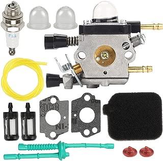 Kaymon 42291200606 Carburetor Air Filter Fuel Line for Stihl BG45 BG55 BG65 BG85 SH55 SH85 Blower Zama C1Q-S68G Carb Primer Bulb Fuel Filter Tune Up Kit