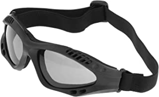 F Fityle Tactical Safety Goggles, Anti Fog Military Glasses with Adjustable Strap for Riding Shooting Hunting Cycling