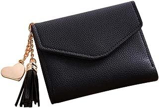 Casual Fashion Girls Tassel Short Wallet Afterso Billfold Purse