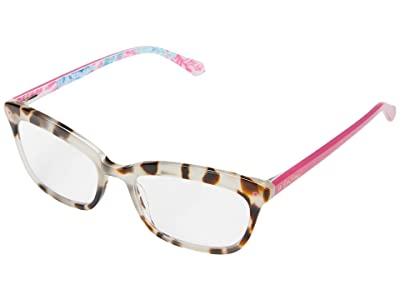 Lilly Pulitzer Tidepool (Cream Tortoise) Reading Glasses Sunglasses