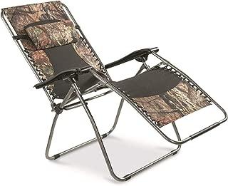 Guide Gear Oversized Zero-Gravity Chair, 500 lb. Capacity, Mossy Oak Break-Up Country