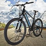 Bicicleta Eléctrica para Adultos Mountain Bike de 27,5 Pulgadas Batería Litio 36V 10Ah Bicicleta eléctrica Inteligente Urbana Trekking