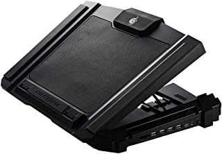 Cooler Master SF-17 Gaming Laptop Cooler with 180mm Fan and 4 Ergonomic Height Settings - Black - R9-NBC-SF7K-GP