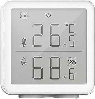 XYXZ Higrómetro Digital WiFi Sensor De Humedad De Temperatura Inteligente Compatible Higrómetro Digital Inalámbrico De Ran...