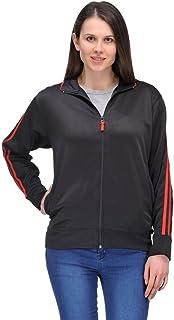 Scott International Dryfit Jacket Wrinkle Free Women's (Black with Red Stripes)