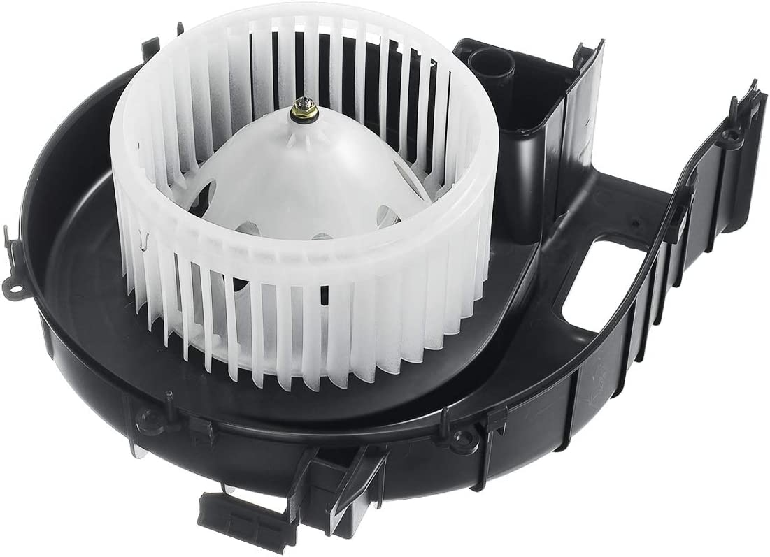 A-Premium Heater Blower Motor with Fan Niss New mail order Replacement for 5 ☆ popular Cage