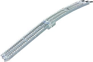 Yutrax Single Folding XL Aluminum Truck, UTV/ATV, Motorcycle Loading Arch Ramp, 750lb Capacity