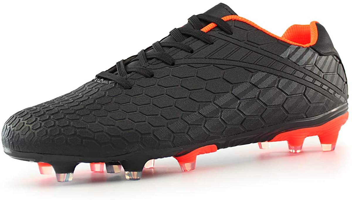 security Hawkwell Men's Boys Youth Outdoor Soccer Ground Firm Cleats Oakland Mall