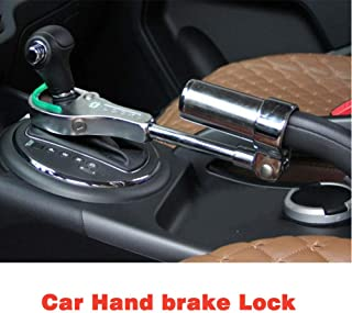 Universal Brake & Gear Car Lock Steel High Security Car Van Lock Theft Handbrake