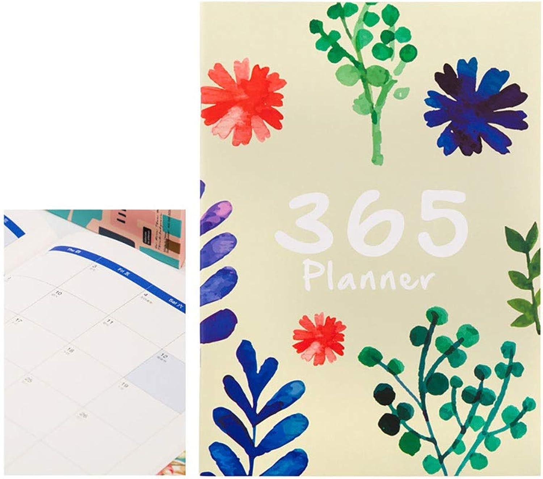 SHIZHESHOP Kreatives gelbes Aprikosenromantik-Notizbuch A4, Zeitplan-Planungsnotizbuch für Büro-Sekretär, 2-Pack (Farbe   Gelb x2) B07NP9GQD6 | Nutzen Sie Materialien voll aus