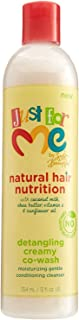 Just For Me Natural Hair Nutrition Detangling Creamy Cowash, 12 Ounce
