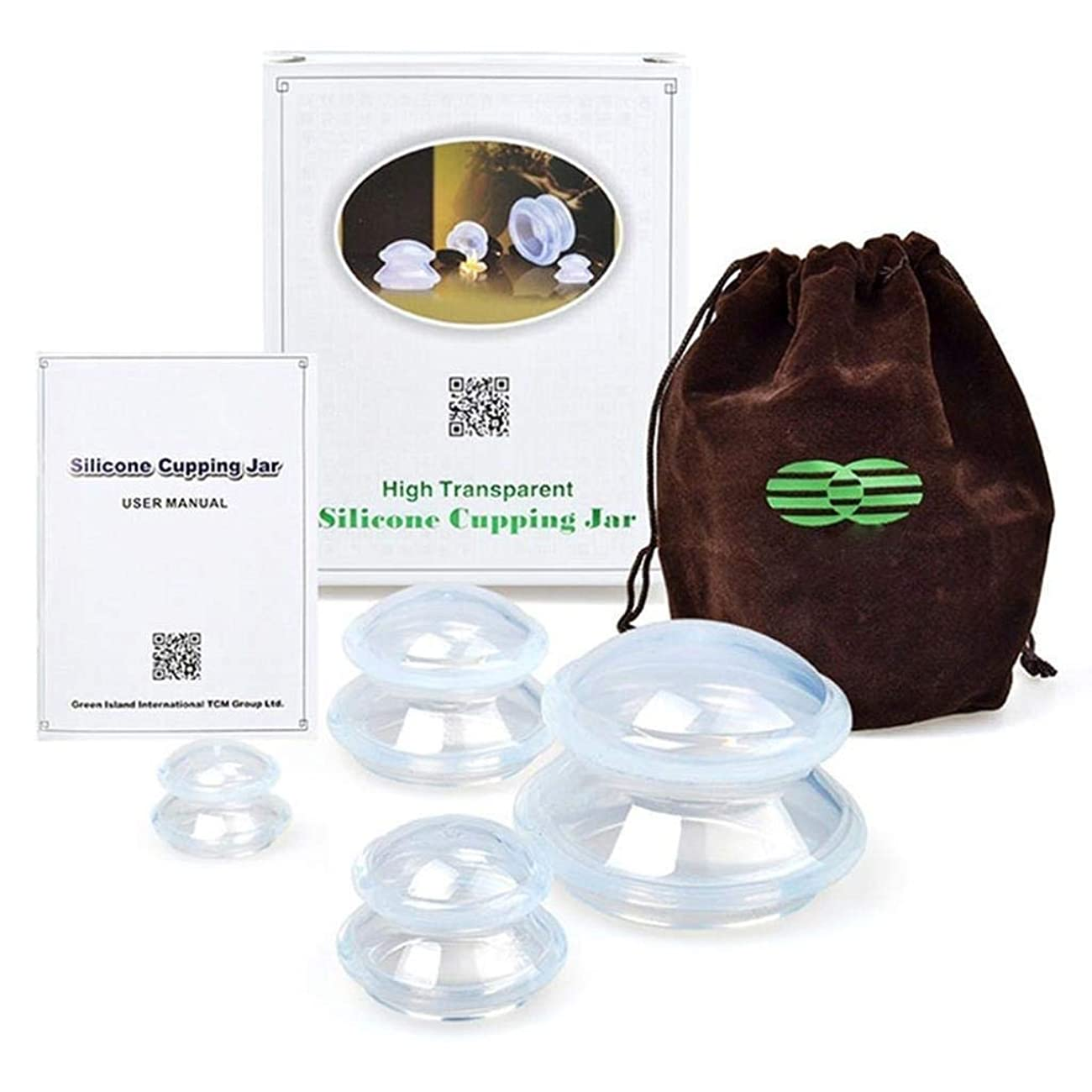 温かい重要性霜カッピングセット火災カッピングジャーセット、ボディマッサージ筋肉関節痛痛みの軽減