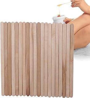 Wax Stick, 100PCS Wegwerp Houten Ontharingsstok voor het aanbrengen van Ontharingswas op het Lichaam