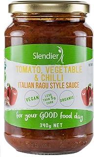 Slendier Tomato, Vegetable and Chilli Italian Ragu Style Pasta Sauce 340 g, (SAU-VC)