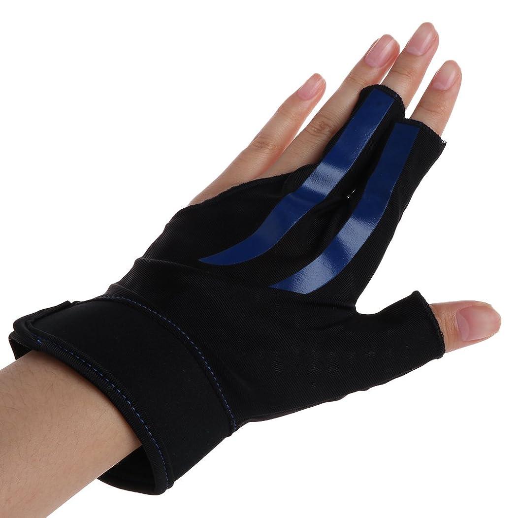 アクセスラビリンスアシスタントFucung 釣り手袋 1個 ハーフフィンガー 通気性 ビリヤード 左手 速乾 ソフト