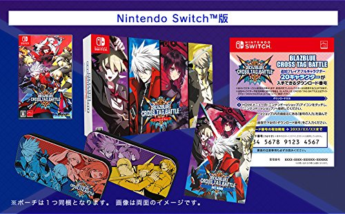 BLAZBLUE CROSS TAG BATTLE Limited Box - Switch Japanese ver.