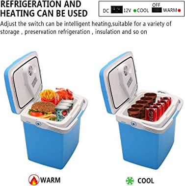 ZOKOP Electric Portable Fridge Cooler & Warmer (26 Liter / 0.92Cuft) AC/DC Portable Thermoelectric System,for Car/Home/Of