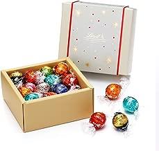 リンツ チョコレート (Lindt) クリスマス リンドールクラシックギフトボックス 8フレーバー/20個入りショッピングバッグS付