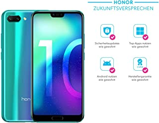 Honor 10 Dual Sim 64Gb Factory Unlocked 4G Smartphone International Version Phantom Green